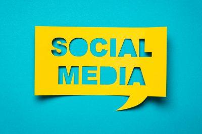 Sociala medier illustration