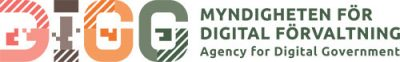 Logotyp för Myndigheten för digital förvaltning