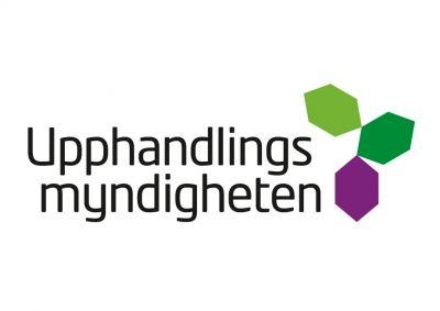 Logotyp för Upphandlingsmyndigheten